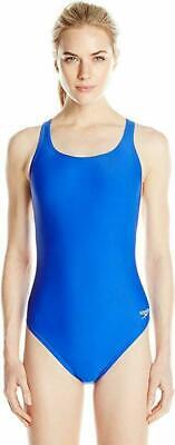 Speedo Women's Blue Y-Back Super PRO LT One-Piece Competition Swimsuit (Women's Competition Swimwear)