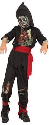 Child's Zombie Ninja - Dead Man Spooky Ninja Warrior Halloween Costume - Small - Halloween Costumes Zombie Ninja