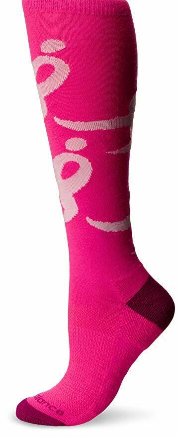 NEW BALANCE LACE UP FOR THE CURE SOCK Unisex Knee High Men 9