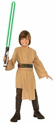 Star Wars Jedi Costume - Luke Skywalker Obi Wan Kenobi Halloween - Youth Size