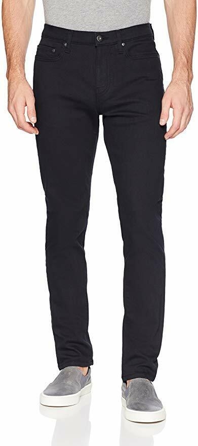 Goodthreads Men's Comfort Stretch Slim-Fit Jean pant, Black,