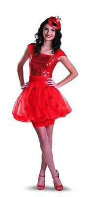 et Elmo Womens Adult Dress Halloween Costume Red, S/P 4-6 (Halloween-kostüme Elmo)