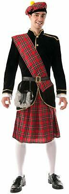 Adult Scotsman Irish Scottish Kilt Plaid Costume Standard](Scotsman Costume)