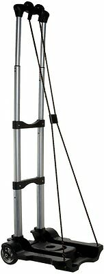 Samsonite Compact Folding Luggage Carrier Travel Cart Dolly Black