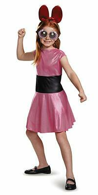 The Powerpuff Girls Blossom Child Costume XL 14-16 (No Glasses)