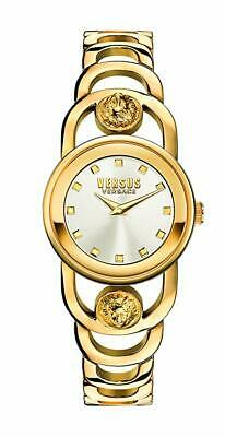 Versus By Versace Women's SCG100016 V_CARNABY STREET CRYSTAL Gold Watch