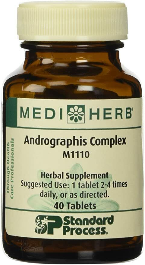 MediHerb - Andrographis Complex - 40 Tablets - #M1110 - Best Buy 2022 - New