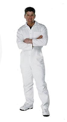 Fit For The Job Painters Decorators 100 Cotton White Work Coverall - Sale