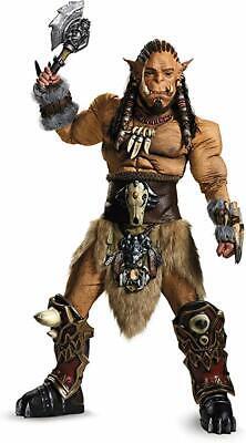 World Of Warcraft Halloween Costumes (Disguise Men's Azeroth World of Warcraft Durotan Prestige Halloween Costume)