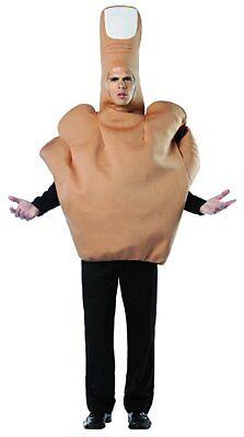 Rasta Imposta Mittelfinger Flipping The Vogel Erwachsene Herren Halloween - Rasta Imposta Kostüm