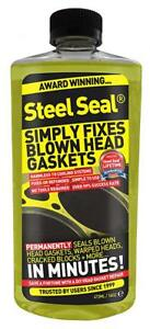 Steel Seal - Permanent Head Gasket Repair for all cars- 4 Cylinder STEELSEAL