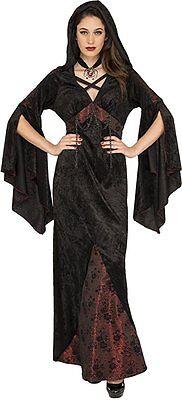 Adult Dark Damsel Vampire Witch Vampiress Costume ](Dark Witch Costume)