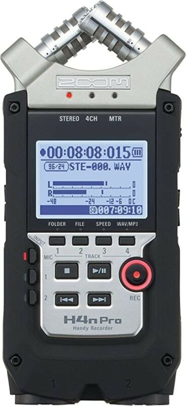 Zoom H4NPRO Multi Track Digital Recorder Brand New Unopened Box