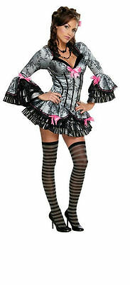 Secret Wishes Women's Sexy French Kiss Victorian Maid Pirate Adult Costume  XS - French Kiss Costume Halloween