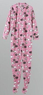 Joe Boxer No More Counting Sheep Footed Pajamas Baby Baa Baa Costume L LAST ONE