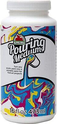 Apple Barrel Acrylic Paint Pouring Additive/Medium 16oz/473ml New! *SALE*
