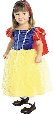 Girls Snow White Princess Costume Child Kids Childrens Fancy Dress Gown NEW