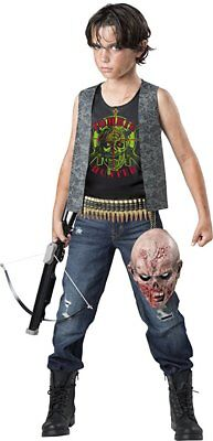 Incharacter Zombie Hunter Apocalypse Kids Child Boys Halloween Costume 17113
