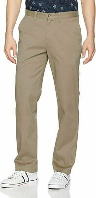 Nautica Men's Stretch Twill Classic Fit Straight Leg True Khaki Pants 32x32