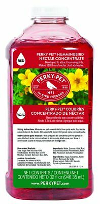 Hummingbird Feeder Nectar Concentrate Free Quick Shipping Bird Food Gift Yard tv