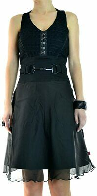 TRIPP FLEETWOOD DRESS GOTHIC STEAMPUNK CORSET VAMPIRE BALL PROM IO2611 M Clothing, Shoes & Accessories