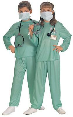 ER Doctor children's Costume - FREE STANDARD SHIPPING  (Er Doctor Costume)