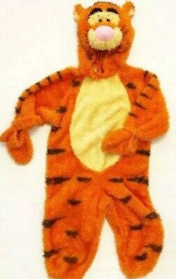 Disney Store Winnie Pooh Tiger Plüsch Tiger Halloween Kostüm Overall XXS (Disney Figur Halloween Kostüm)