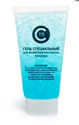 Special Gel For Physiotherapy Pads Electro-therapy Conductivity 3 Oz.