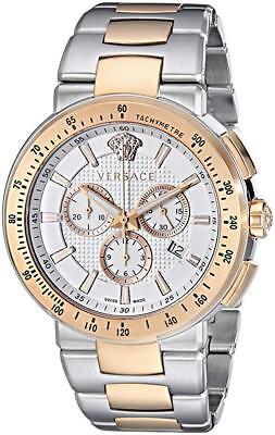 Versace Men's VFG130015 Mystique Sport Chronograph Two-Tone Steel Date Watch