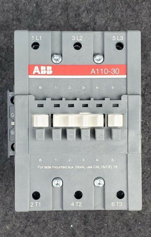 ABB A110-30 Contactor 120v coil