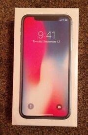 8 x Apple iPhone X TEN 256GB Space Grey Smartphone - Unlocked