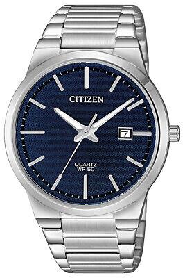 Citizen Men's Quartz Dark Blue Dial Calendar Window 39mm Watch BI5060-51L