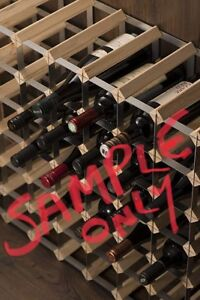 RTA Traditional 30 Bottle ready to Assemble Pine Wine Rack