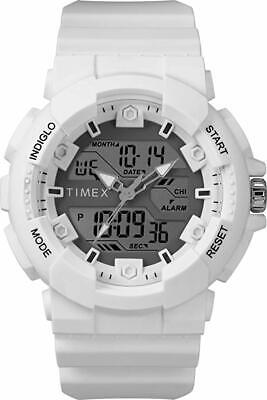 Timex Men's Watch  Digital 50 Meter Alarm Stopwatch with Resin Strap TW5M22400