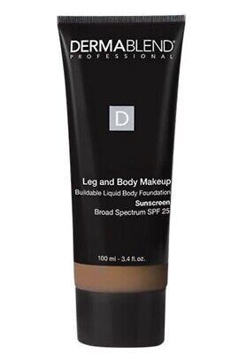 Leg Body Makeup (Dermablend Leg & Body Makeup SPF 25 in Tan Golden 65N - 3.4 oz NEW IN)