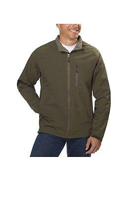 Kirkland Signature Men's Softshell Jacket Olive Green US Size LT NWT