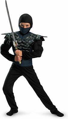 New Shadow Ninjas Night Fury Night Camo Ninja Child Costume Small 4-6 - Night Fury Costume