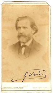 Autografo-di-Giuseppe-Verdi-Compositore-Fotografia-Originale-Reutlinger-1865