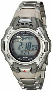 Men's Casio G Shock MTGM900DA-8 Stainless Watch 8 Solar Atomic Timekeeping