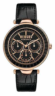 Versus by Versace Women's SOS040015 Sertie Multifunction Quartz Black Watch