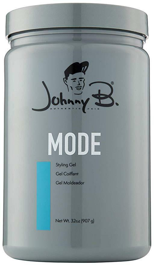 Johnny B Mode Styling Gel 32oz Medium Hold Blue