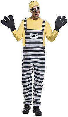 Rubies Despicable Me 3 Jail Minion Tom Adult Mens Halloween Costume 820581](Jail Man Halloween)