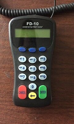 First-data Fd-10c Pin Pad Model 8001