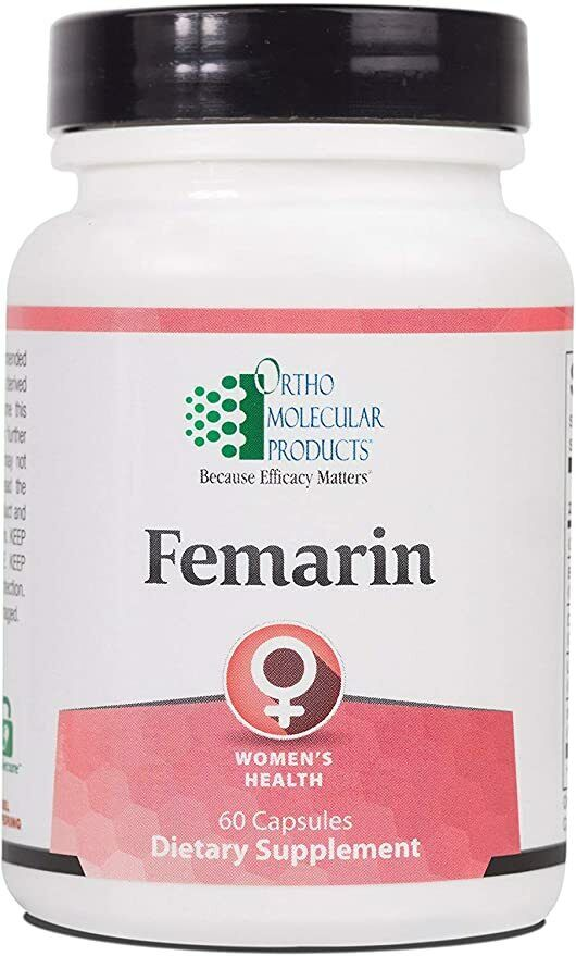 Ortho Molecular Products Femarin 60 Capsules