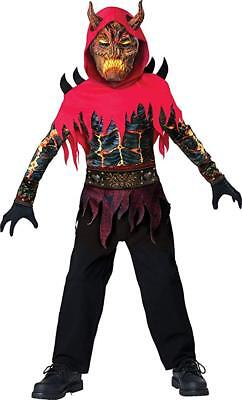 NEW Boys Halloween Costume InCharacter Underworld Demon Size 6 8 12 Devil  (Devil Costume For Boys)