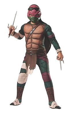 Raphael Halloween Costume NEW Size Medium with Shell Muscle (Turtle Shell Kostüm Halloween)