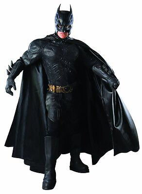 Licensed Theatrical Quality XL Adult Batman Costume w/ RARE FACEPIECE  - Theatrical Quality Costumes