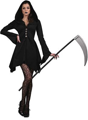 NEW Seeing Red Salem Witch Costume Cosplay Halloween Witch Robe Costume L