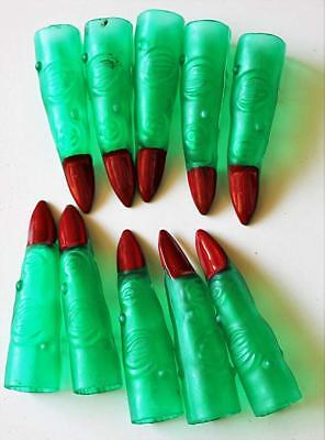 an Alien Finger Red Nail Claw Halloween Costume Accessory (Alien-finger Halloween)