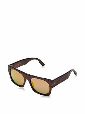 Alexander McQueen MCQ 0022/S Chocolate Rectangle Sunglasses